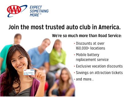 Join the most trusted auto club in America.