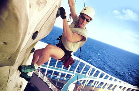 Royal Caribbean Cruise Rock Climbing