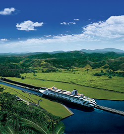 Panama Canal cruises on Holland America