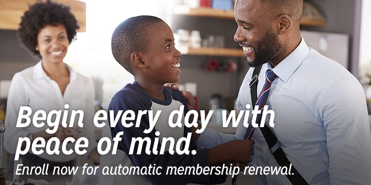 Enroll now for automatic membership renewal