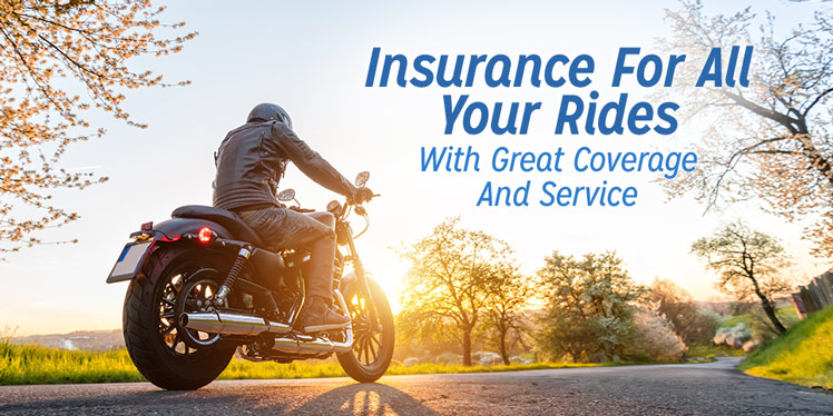 Insurance For All Your Rides