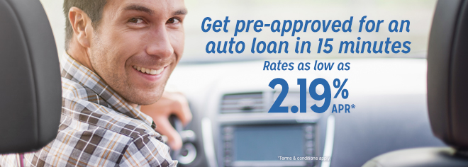 auto loan pre-approval in 15 minutes