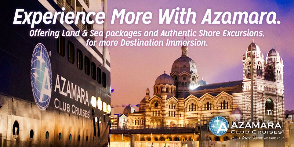 Azamara land and sea vacations