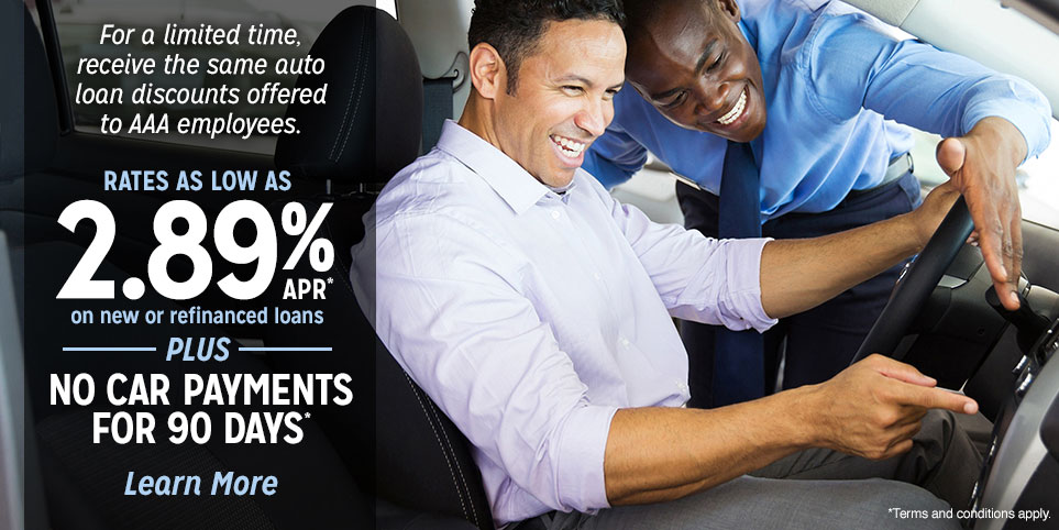 Get an auto loan through AAA