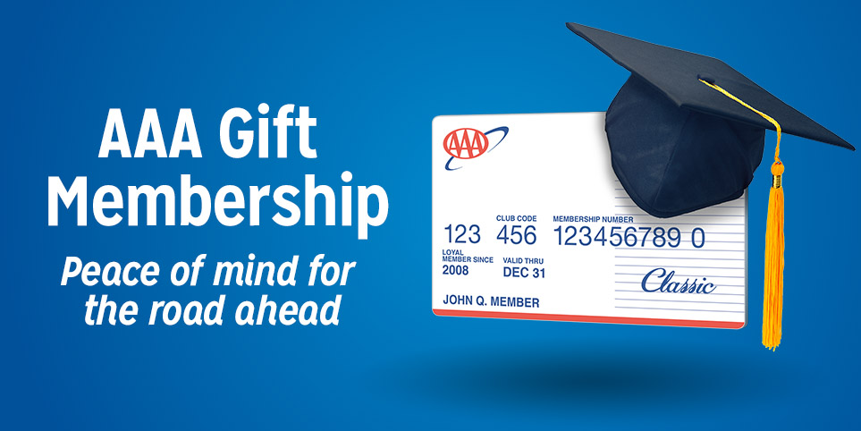 Give the gift of a AAA membership