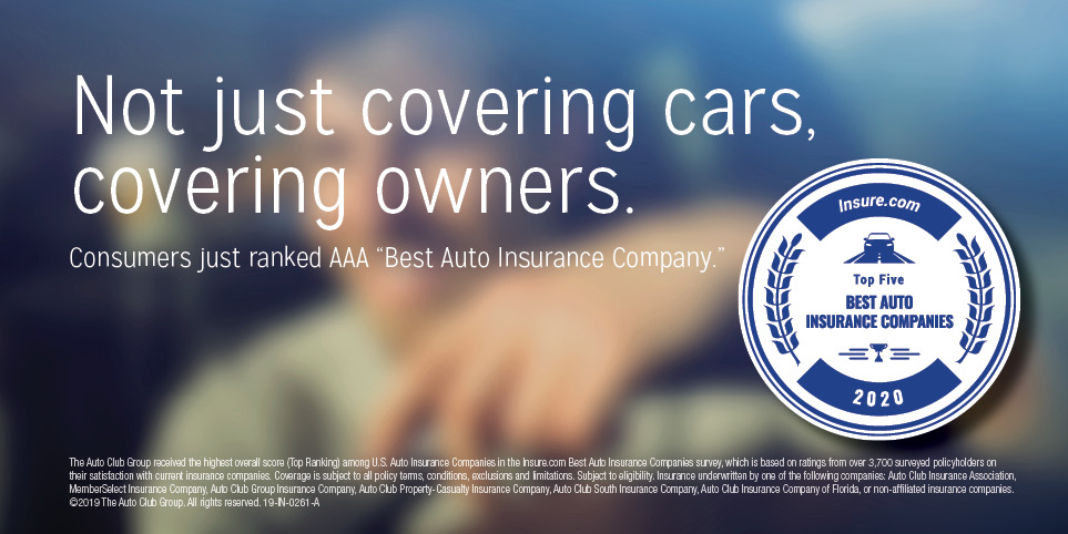 Consumers just ranked AAA best auto Insurance company